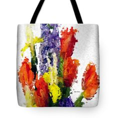 Tote Bag - Abstract Flower 0801
