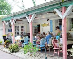 The Island Cow Restuarant in Sanibel Island, Florida. Go to www.YourTravelVideos.com or just click on photo for home videos and much more on sites like this.