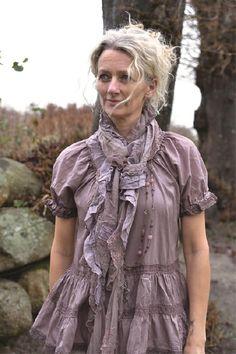 Jeanne dArc Living Scarf, Delightful Senses, Mocca