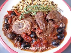 The Way I Cook: Braised Lamb with Olives