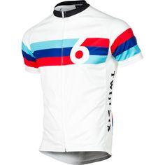 Twin Six Grand Prix Jersey - Short-Sleeve - Men'sWhite/Black/Blue/Teal/Red