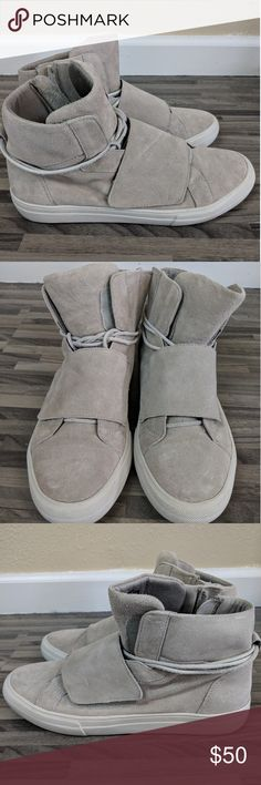 Yeezy Inspired Suede Light Brown Aldo Boots Sz 7.5 Worn only a few times. One size too big for me. 7.5 men's. Often mistaken for Yeezy's.   No trades. Thanks! Aldo Shoes Sneakers