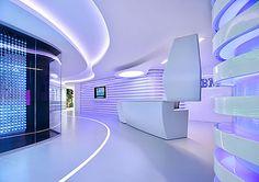 Futuristic space