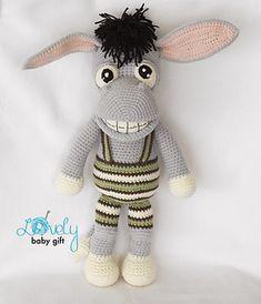 Amigurumi donkey - crochet pattern by Lovely Baby Gift