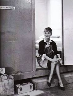 Audrey e Mr. Famous, bastidores de The Children's Hour, 1961