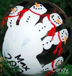 icandy handmade: (iCandy) Handful of Handmade Christmas Ornaments