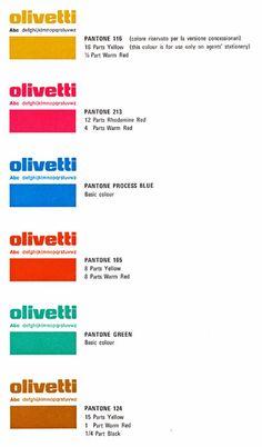 Gamma di colori per la corrispondenza