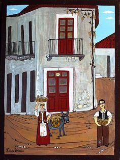 Θέμα Μαρτίου: Λαϊκή Παράδοση στην Ελλάδα! Places To Visit, Greek, Logo Design, Folk, Painting, School, Baby, Popular, Painting Art