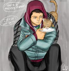hobo!cas + kitty by moloko-plus.deviantart.com on @deviantART