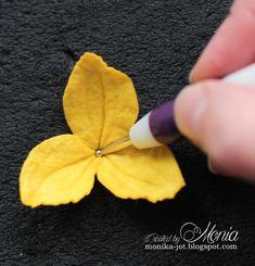 Moja papierowa kraina: Kurs na żonkila Flower Paper, Paper