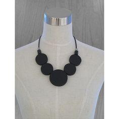 aarikka Oona Black Necklace - aarikka Necklaces