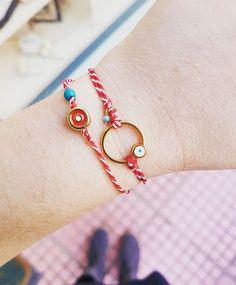 Macrame Bracelets, Handmade Bracelets, Handmade Jewelry, Clay Jewelry, Friendship Bracelets, Baba Marta, Jewels, Crafty, Amelie