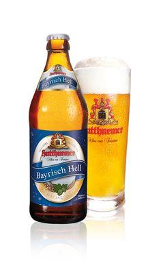 Brauerei Hutthurm, Bayrisch Hell | 20 x 0,5 l (Beer Bottle Drawing)