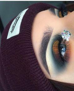 Gorgeous Makeup: Tips and Tricks With Eye Makeup and Eyeshadow – Makeup Design Ideas Makeup 101, Glam Makeup, Cute Makeup, Gorgeous Makeup, Pretty Makeup, Makeup Goals, Crazy Makeup, 1970s Makeup, Makeup Meme