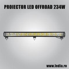 Proiector Led auto offroad 4x4 bara cu led 234w 90cm led cree sibiu