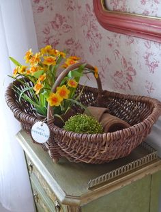 Chateau Chic - Spring filled basket