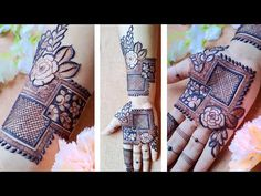 Design Discover New Stylish Rose Mehndi Design with Check and Inverse Filler Elements Latest Bridal Mehndi Designs, Khafif Mehndi Design, Floral Henna Designs, Mehndi Designs Book, Simple Arabic Mehndi Designs, Mehndi Designs For Girls, Mehndi Designs For Beginners, Dulhan Mehndi Designs, Mehndi Designs For Fingers