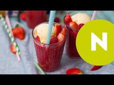 Erdei gyümölcsös smoothie házi vaníliafagyival recept képpel. Hozzávalók és az elkészítés részletes leírása. Az erdei gyümölcsös smoothie házi vaníliafagyival elkészítési ideje: 25 perc