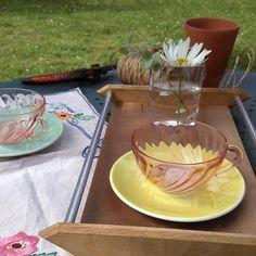tasse arcopal vintage - 2 € --> lecitrongivre.com
