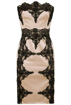 This dress is to DIE for! ! Absolutely gorgeous! ! Some black chandelier earrings to go with it!