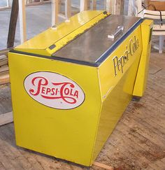 Old School Bottle Cooler  I'm a Coke fan myself but I would take this. It's awesome.