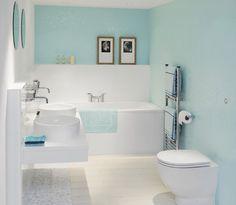 Seaside bathroom decor: dazzling seaside bathroom decor and wall mounted toilet design feat modern round vanity sinks Seaside Bathroom, Wet Room Bathroom, Small Space Bathroom, Coastal Bathrooms, Bathroom Ideas, Bath Room, White Bathrooms, Coastal Kitchen Lighting, Coastal Decor