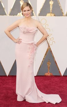 Jennifer Jason Leigh  The Oscars Red Carpet Looks Everyone Is Talking About via @WhoWhatWear