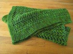 This baby blanket is based on the gull lace stitch used in the famous Baby Sweater on Two Needles aka 'February Sweater' from Elizabeth Zimmermann's 'Knitter's Almanac'.