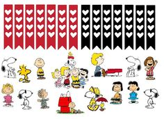 Snoopy and the gang Planner Sticker Set by SugaryGaLShop on Etsy