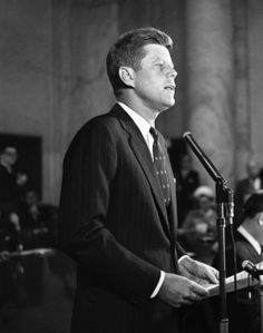 Image result for jfk announces he's running for president