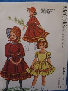 1959 Holly Hobbie Dress Costume Pattern by TheIDconnection on Etsy, $25.00