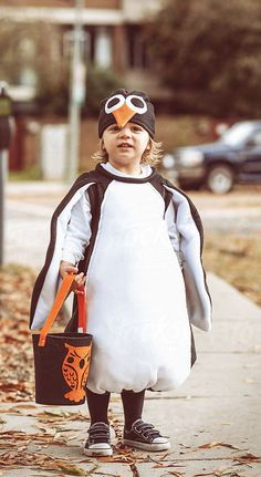 penguin costume halloween .. this will be your child.