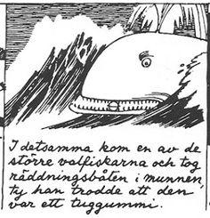 FIrst moomin comics 1947