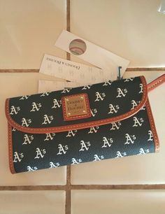 Dooney and Bourke A's Wallet ⚾