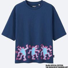 170cb47b6 MEN SPRZ NY Keith Haring Graphic T-Shirt Keith Haring Keith Haring, Uniqlo,
