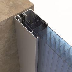 Interlocking polycarbonate system for traslucent facades arcoPlus®549 - Dott. Gallina 11 / 14