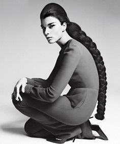 Dujour - Fall Fashion Preview starring Crystal Renn