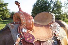 Double J Pozzi Pro - fancy barrel saddle