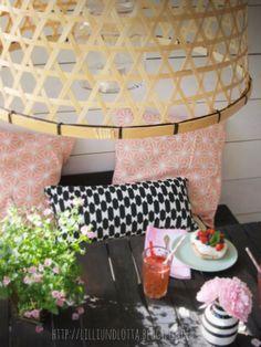 Garten-Upcycling-Projekt und kleine Erdbeer-Baisers