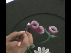 Lienzo composición con anemonas . Painting Anemones - YouTube