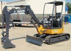 Refurbished 2006 John Deere 27d Zts Compact Excavator   Used Excavators for sale