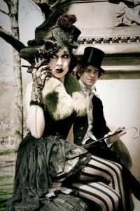 Bohème Sauvage, as inspiration for a Burlesque themed party