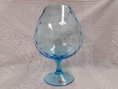 Vintage Italian Ice Blue Vase - Shop for Antiques, Vintage & Collectibles - The Vintage Village