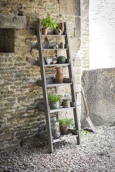 Garden Aldsworth Outdoor Patio Planter Flower Storage Stand Shelf Ladder 6 Tier in Home, Furniture & DIY, Furniture, Bookcases, Shelving & Storage | eBay