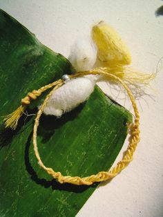 Organic Silk Cord Macrame Bracelet