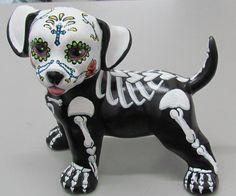 Day of the Dead  Dia De Los Muertos Painted by DarkEssenceBoutique