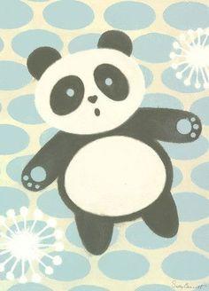 Tai Chan Panda Canvas Art