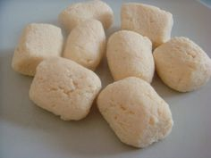 Gnocchi with coconut flour
