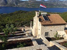 Kneže Korčula Croatia  The most beautiful stone house