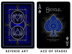 'Quicksilver' Playing Cards Deck by Russell Kercheval — Kickstarter